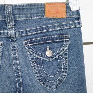 True religion Billy   womens jeans sz 27 L -7501